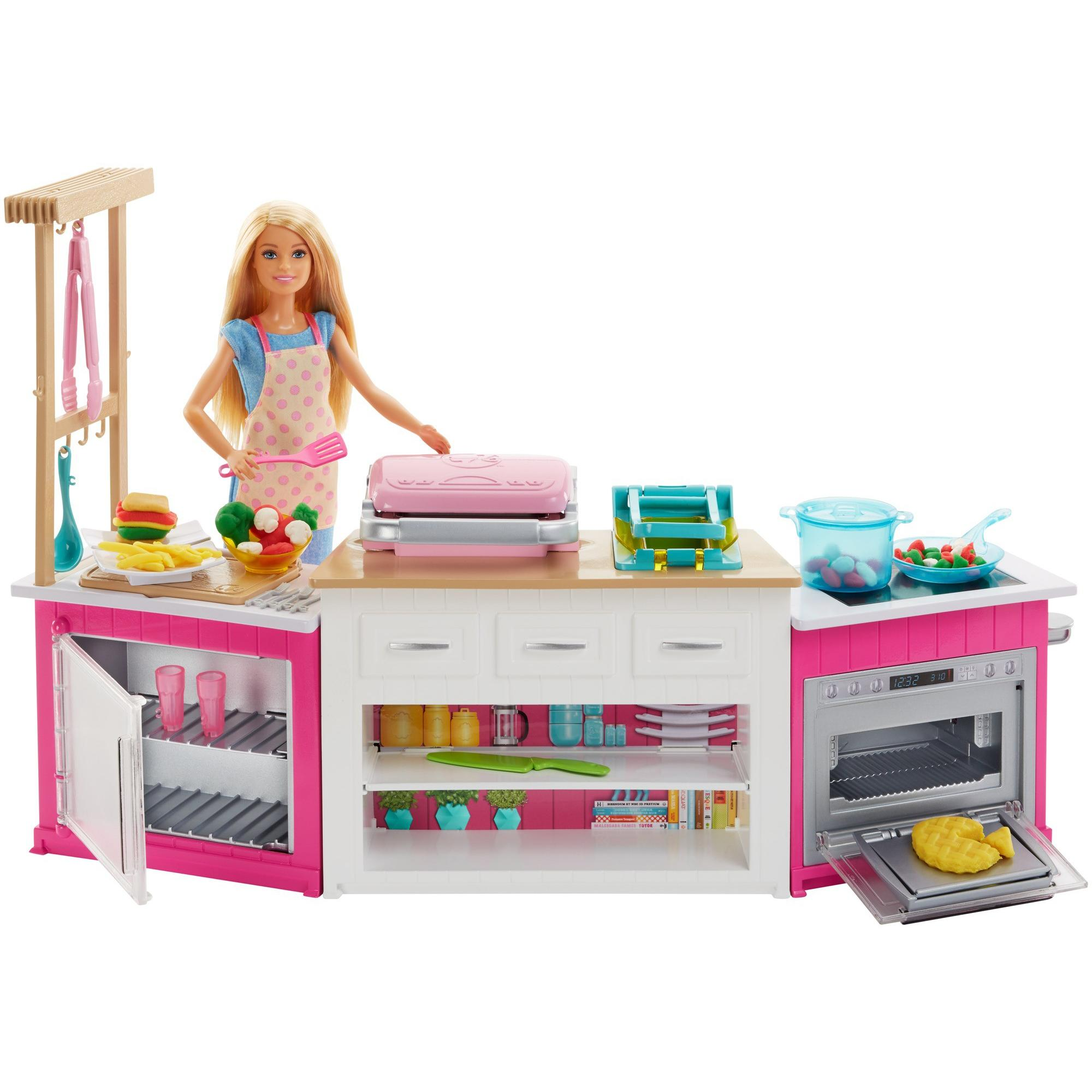 Barbie Ultimate Kitchen Cooking & Baking Playset with Chef Doll by Mattel