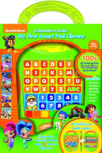 My First Smart Pad Nickelodeon Electronic Activity Pad & 8-Book Library by
