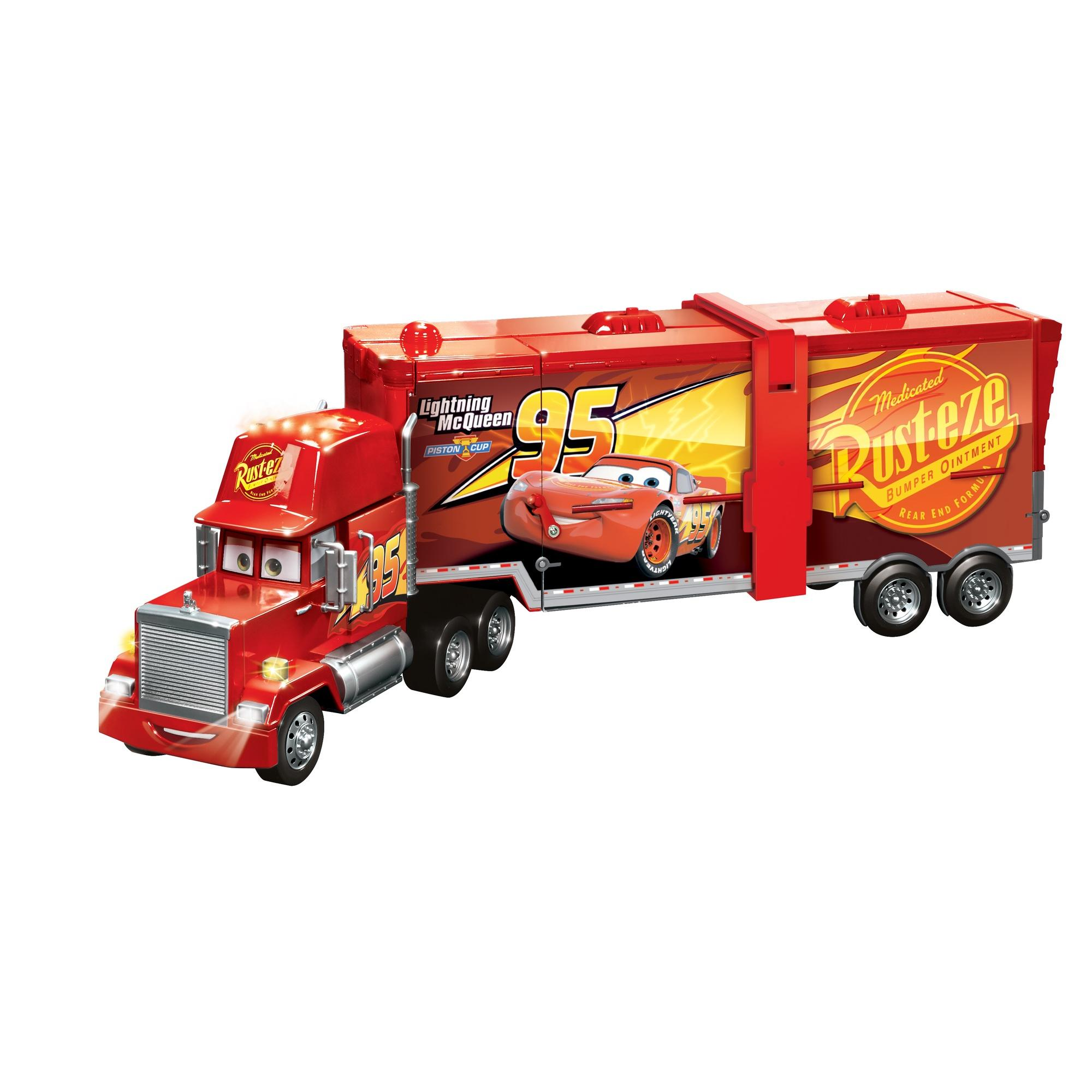 Disney/Pixar Cars Super Track Mack Playset 2-in-1 Transforming Truck and Racetrack