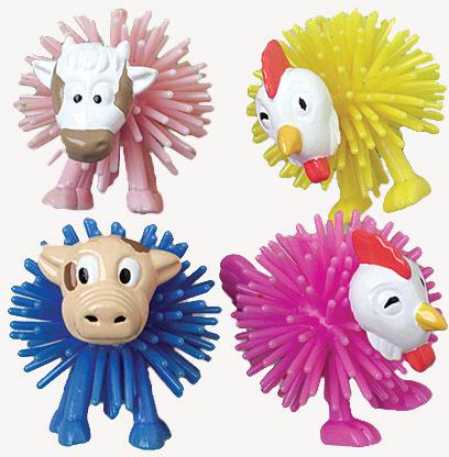 US Toy Company 1258 Wooly Farm Animals