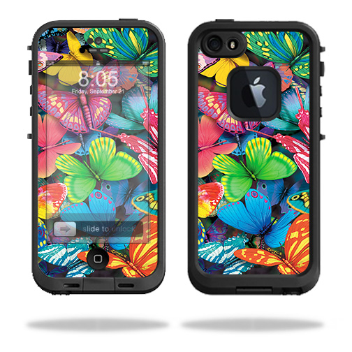 MightySkins Skin For Lifeproof iPhone 5s case - Art Graffiti | Protective, Durable, and Unique Vinyl Decal wrap cover | Easy To Apply, Remove, and Change Styles | Made in the USA