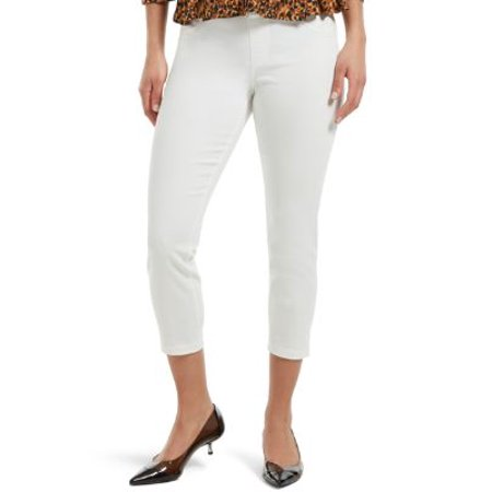 HUE Womens Ultra Soft Denim Capri Leggings Style-U20487