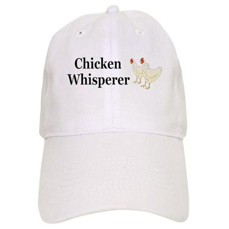 2f46d600a7b7f CafePress - Chicken Whisperer - Printed Adjustable Baseball Cap -  Walmart.com