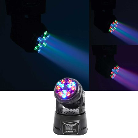 FARENHEIT FH318MH Compact RGB DMX LED Moving Head Beam Club Stage Party -