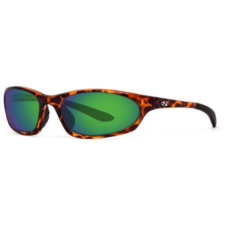 ONOS Ocracoke Green Mirror Plano Power Polarized Tortoise Frame (Polarized Power Sunglasses)