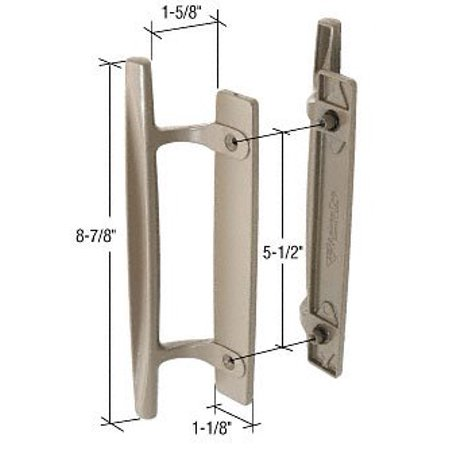 Stone 8 78 Sliding Glass Door Handle Set 1 58 Projection For