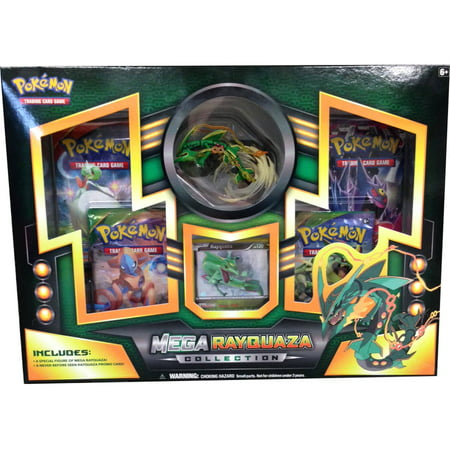 Pokemon TCG: Mega Rayquaza Figure Collection