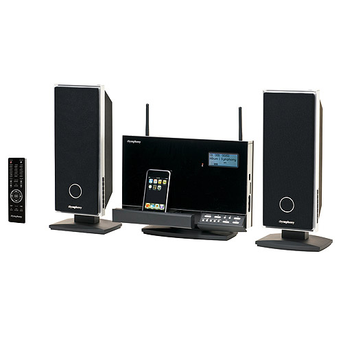 sound system with wireless speakers. isymphony audio system with wireless speakers, w2c sound speakers m