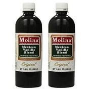 Vanilla Extract Mexican Blend Molina Vainilla 16.6 Oz 2 PACK  Mexican Baking