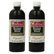 Vanilla Extract Mexican Blend Molina Vainilla 16.6 Oz 2 PACK  Mexican Baking