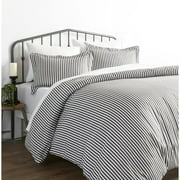 Simply Soft 3 Piece Ribbon Pattern Duvet Cover Set