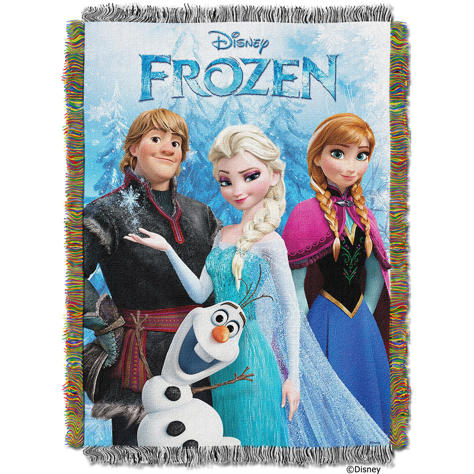 "Disney Frozen Fun 48"" x 60"" Tapestry Throw"