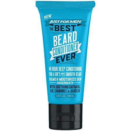 2 Pack Just For Men The Best Beard Conditioner Ever, 3oz/88mL (The Best Shampoo And Conditioner)