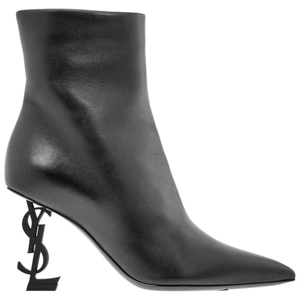 Saint Laurent Ladies Black Boot in Black, Brand Size 36 ( US Size 6 )