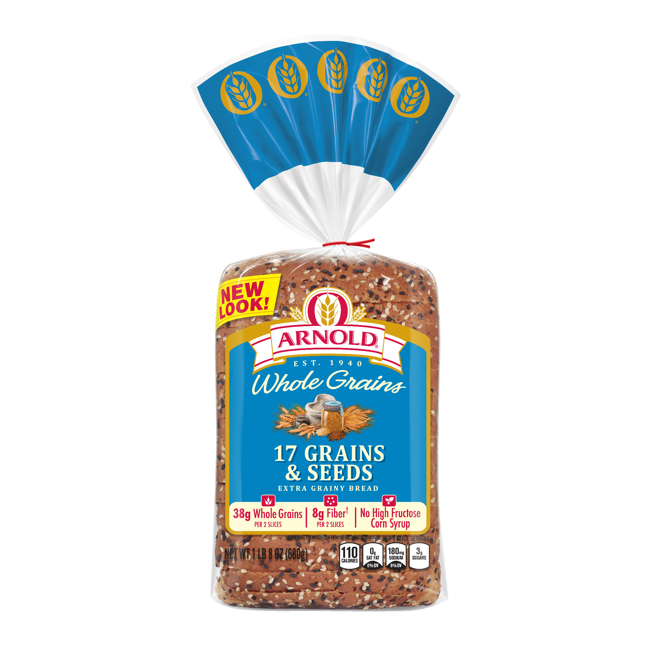 Arnold Whole Grains 17 Grains & Seeds Bread 24 oz