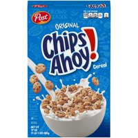 Post, Chips Ahoy Breakfast Cereal, Original 17 oz. Box