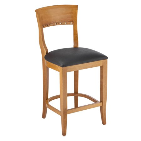 Cherry Finish Counter Chair - Beidermier Counter Stool in Cherry