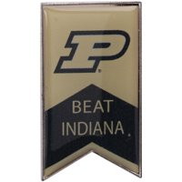 Purdue Boilermakers Beat Indiana Rivalry Banner Pin - No Size