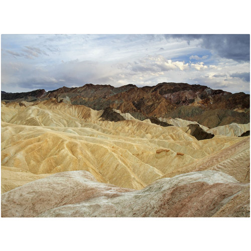"Trademark Fine Art ""Zabriskie Point 2"" Canvas Art by Pierre Leclerc"
