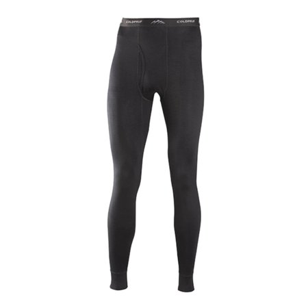 Coldpruf Classic Series Merino Wool Thermal Underwear Pants, Black