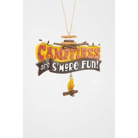 Campfires Are S'more Fun Ornament, 3