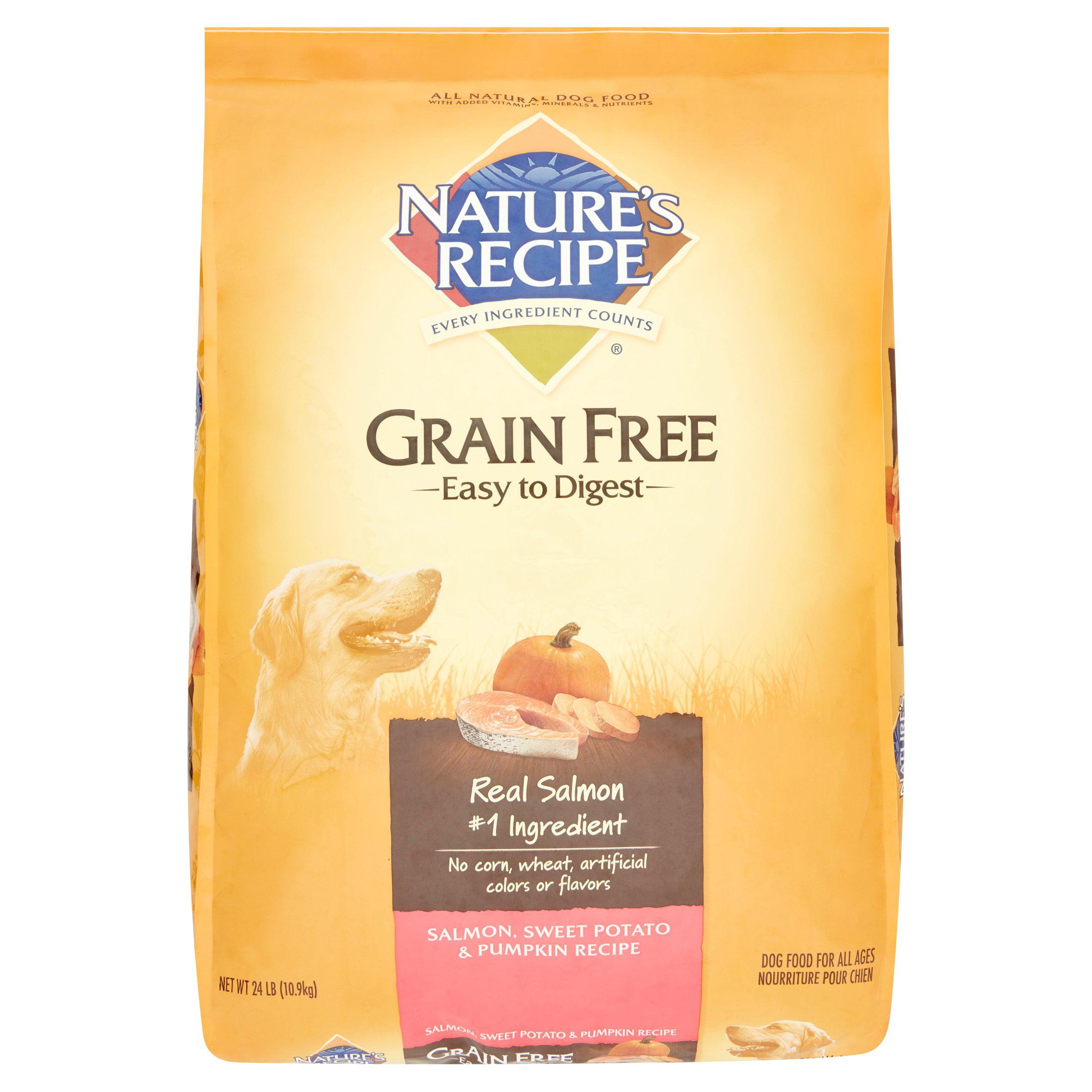 Nature S Recipe Grain Free Salmon Sweet Potato Pumpkin Dry