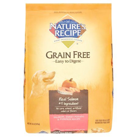 Natures recipe grain free easy to digest salmon sweet potato and natures recipe grain free easy to digest salmon sweet potato and pumpkin recipe dry dog forumfinder Image collections