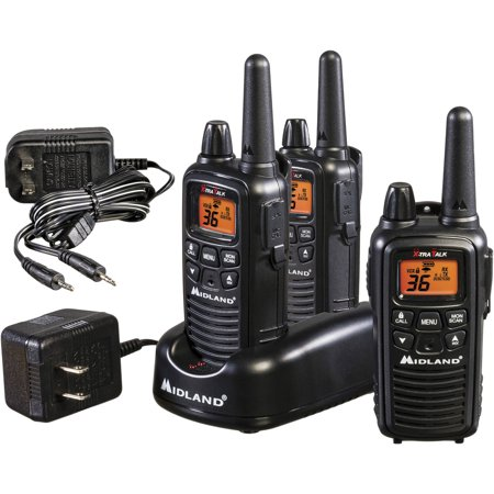 Midland Lxt600 Extended Range Walkie Talkies  3 Pack