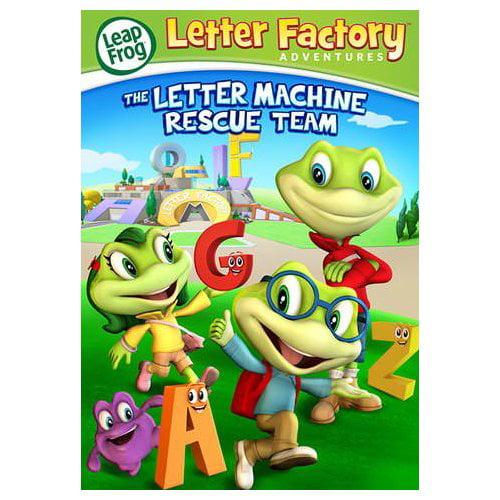 Leapfrog Letter Factory Adventures: The Letter Machine Rescue Team (2014)