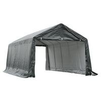 Outsunny 20 x 12 ft. Heavy Duty Outdoor Temporary Carport