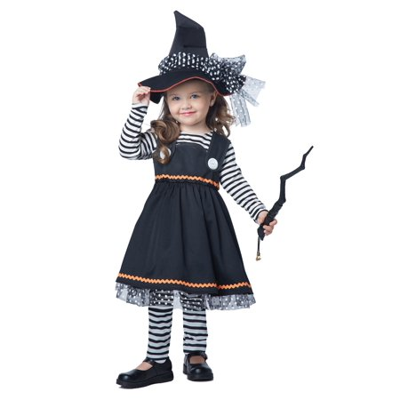 Girls and Toddler Crafty Little Witch Costume](Witch Costume Toddler)