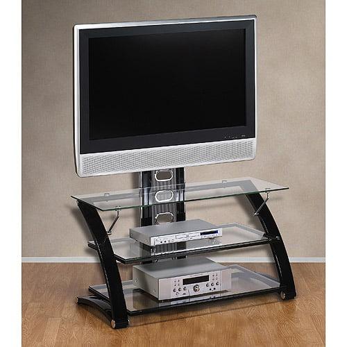 walmart glass tv stand Hometrends Bayard 3 in 1 TV Stand with Mount, for TVs up to 50  walmart glass tv stand