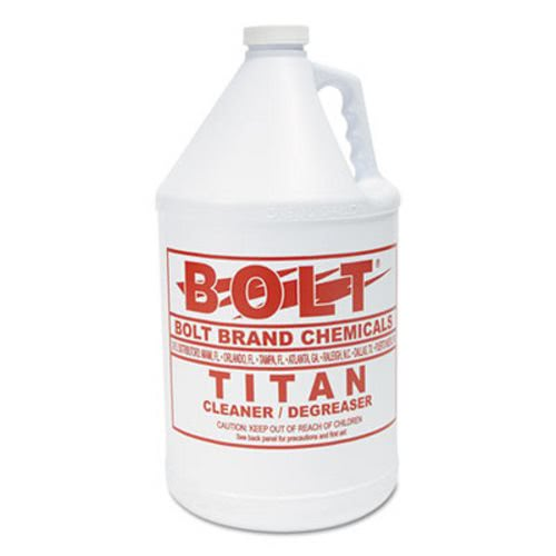 Boardwalk Titan Liquid BSD Degreaser, 1 gal, Bottle, 4/Carton (KESTITAN4)