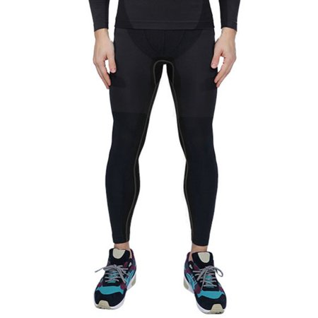 d27e428113091 Men's Compression Pants Running Training Base Layers Skin Sports ...
