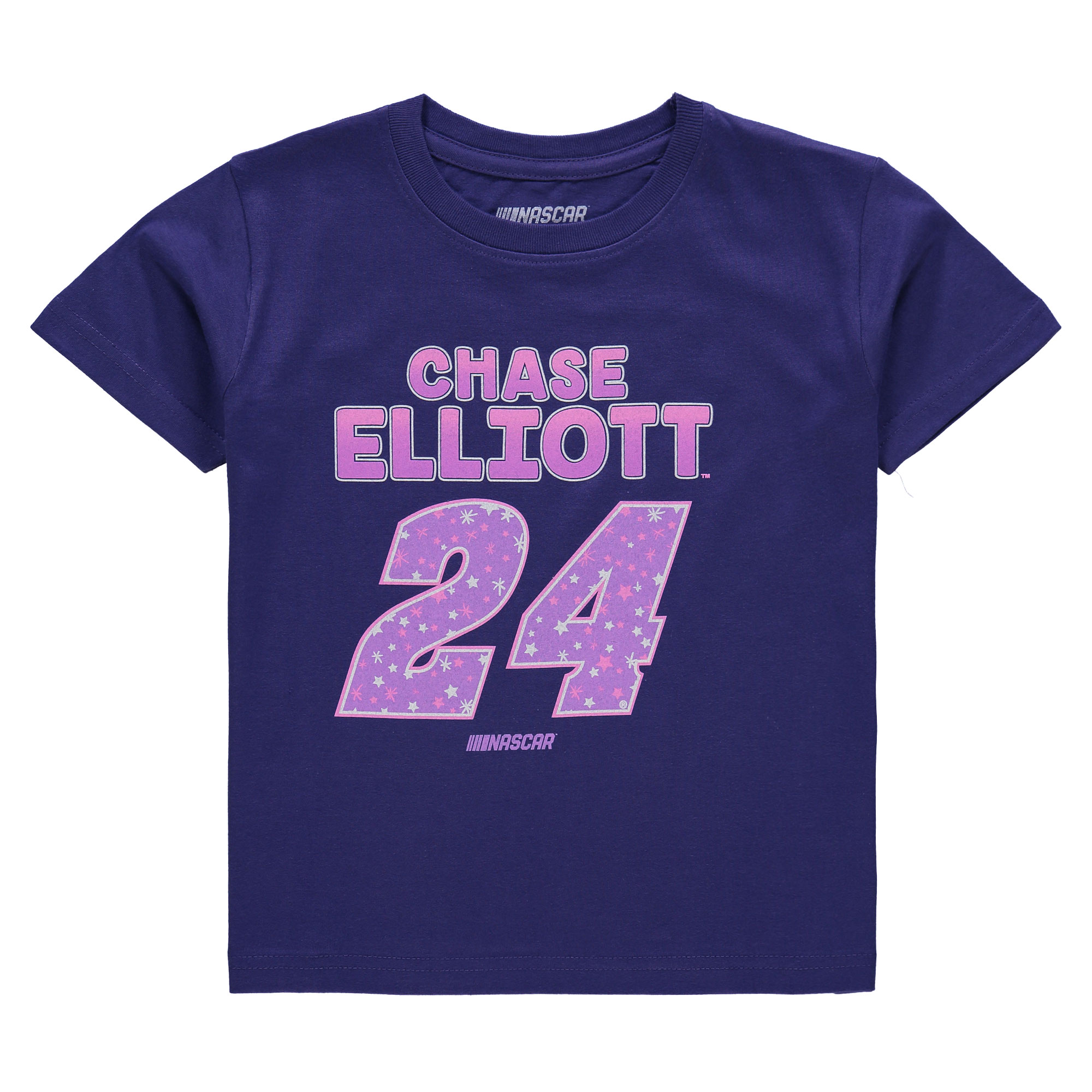 Chase Elliott Fanatics Branded Girls Toddler Driver T-Shirt - Purple