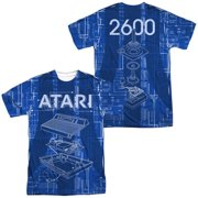 Atari - Inside Out (Front/Back Print) - Short Sleeve Shirt - XXX-Large