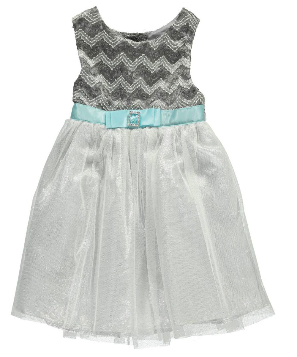 "Youngland Baby Girls' ""Metallic Dream"" Dress"
