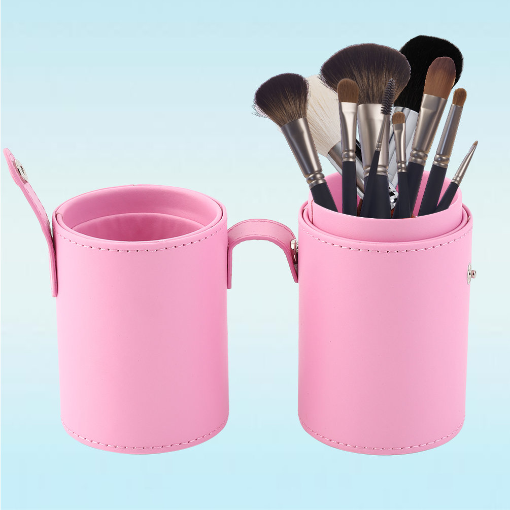 outad empty portable makeup cosmetic storage box case holder brush organizer