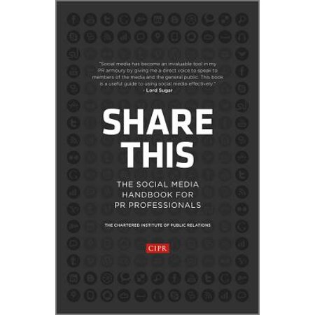 Share This : The Social Media Handbook for PR Professionals - Social Media Professional Halloween