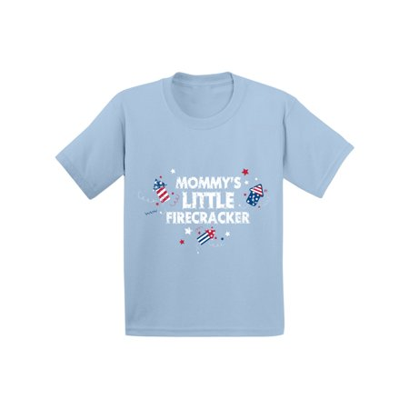 Awkward Styles Mommy's Little Firecracker Toddler Shirt 4th of July Shirt for Kids Cute Independence Day Outfit Kids USA Shirt 4th of July Fireworks Shirt for Boys and Girls USA Shirt for Kids](Diy Kids)