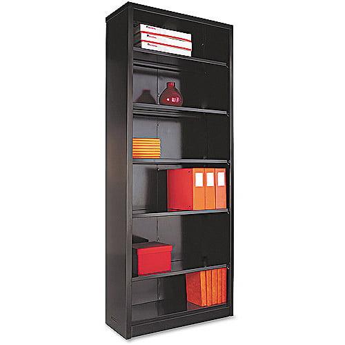 Alera 6-Shelf Steel Bookcase