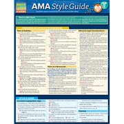BarCharts 9781423225379 Ama Style Guide Quickstudy Easel