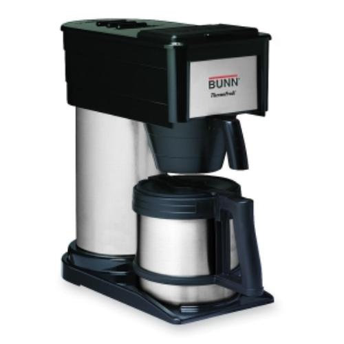 BUNN BT Velocity Brew 10-Cup Thermal Carafe Home Coffee Brewer, Black - Walmart.com