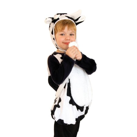 Infant and Toddler Baby Cow Costume with Hat, - Infant Cop Costume