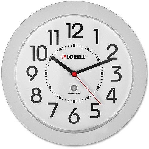 Lorell Radio-controlled Round Wall Clock