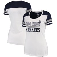 Product Image New York Yankees Majestic Women s Overwhelming Victory  T-Shirt - White Navy ad87003c7631