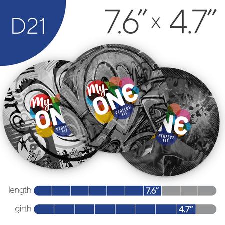 MyONE Condoms Size D21, 12-Count
