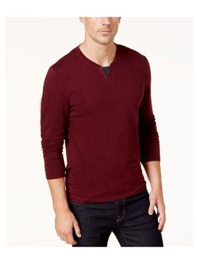 c58ae80c Product Image Alfani Mens Long Sleeve Basic T-Shirt