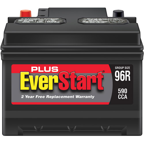 Everstart Plus Lead Acid Automotive Battery Group 96r Walmart Com