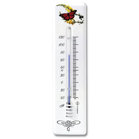 Wall Thermometer Monarch Butterfly Design (Design Thermometer)